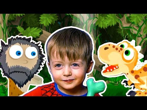 Детям про Динозавров СПАСАЕМ ТИРЕКСА Сборник Все Серии Подряд Мультик  для Детей Lion Boy