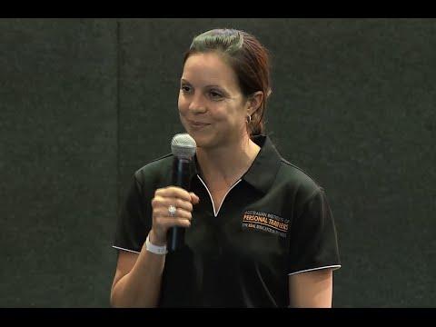 Caren Biddulph, Sports Nutrition Presentation, Sydney (October 2015)