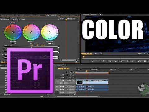 Adobe Premiere Pro - #11: Corrección de Color