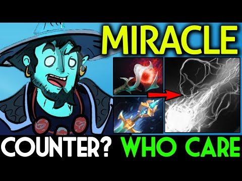 Miracle- Dota 2 7.07 [Storm Spirit] Counter Me? Who Care