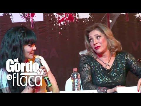 GyF   Maribel Guardia discute con Cynthia Klitbo  frente a la prensa