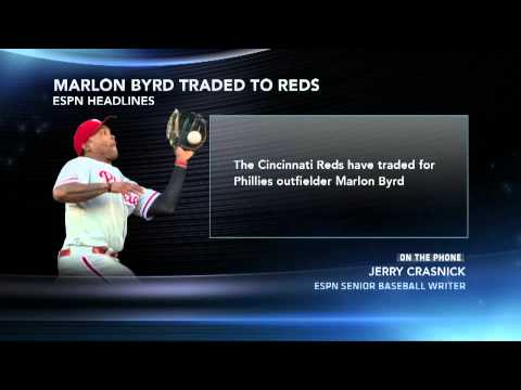 Phillies Ship Marlon Byrd To Reds