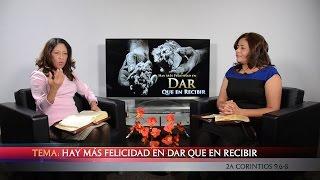 TV En Fuego - #54 Ofelia Méndez - Hay más Felicidad en dar que en Recibir