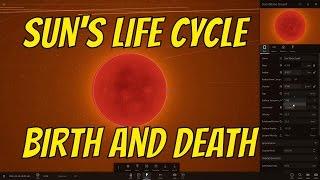 The Birth and Death of the Sun - Universe Sandbox²