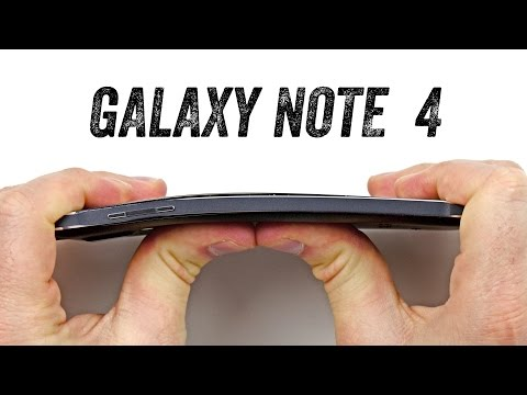 Galaxy Note 4 Bend Test