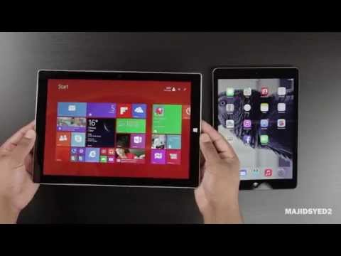 Microsoft Surface 3 vs iPad Air