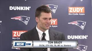 Tom Brady Week 15 Patriots vs. Steelers postgame press conference