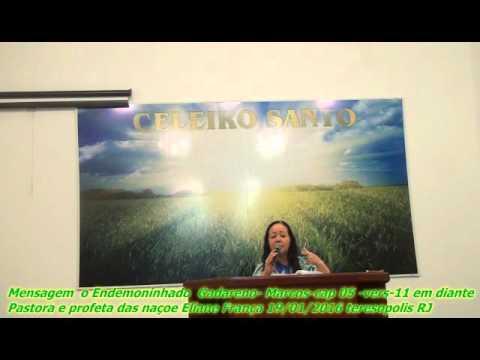 Mensagem  o Endemoninhado  Gadareno- Marcos-cap 05 -vers-11 em diante