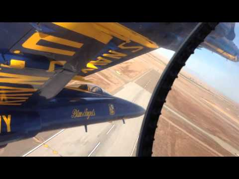 [HD] First Person Cockpit View of Blue Angels F/A-18 Formation Flight