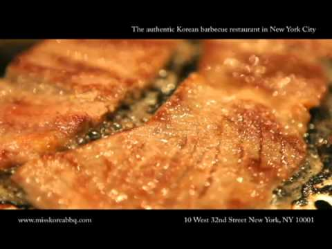 0 The authentic Korean barbecue restaurant in New York City.