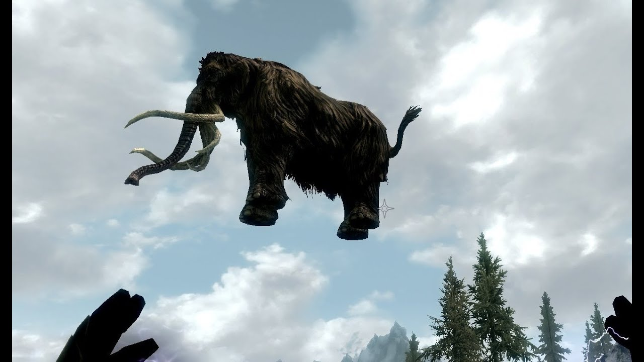 Skyrim Mammoth Armor Skyrim Flying Mammoth