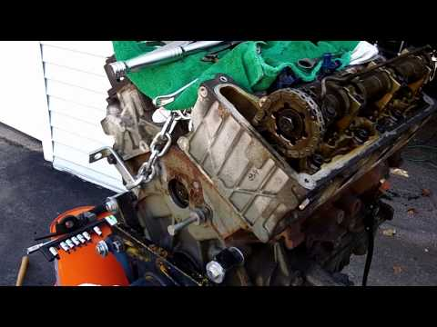 2002 Ford Explorer Timing Chain update 12-15-2012 Rear Cassette Removal