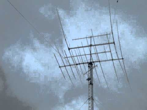 KB0EO antennas in windstorm