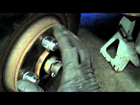 How to get that stubborn Brake Rotor to come off the quick easy way