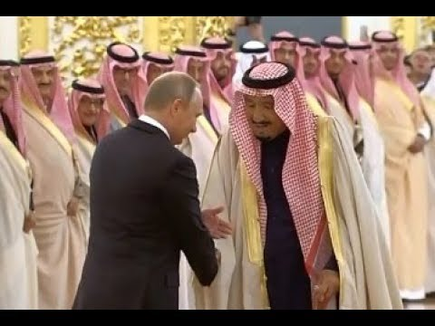 Король Саудовской Аравии приехал в Москву 06 10 2017