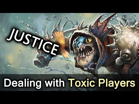 That feel when toxic player gets what he deserves — Dota 2