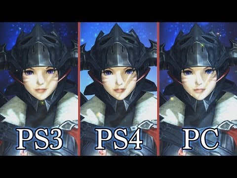 Final Fantasy 14 Online: A Realm Reborn - Graphics Comparison (PS3. PS4. PC)