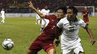 Indonesia Menang Moral, 10 Pemain Timnas U22 vs Vietnam 0-0 ; Konpers Luis Milla - Sea Games 2017