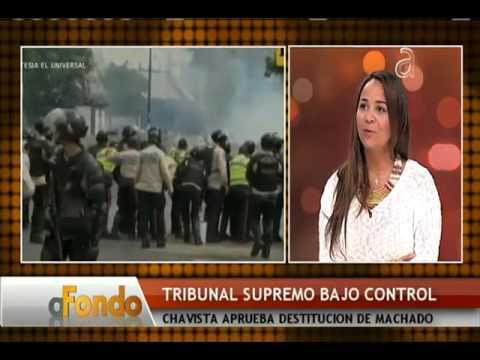 Policía impide acceso de Maria Corina Machado a la Asamblea Nacional - América TeVé