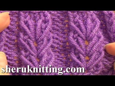 Wheat Ear Loop Stitch Pattern Tutorial 6 Free Knitting Stitch Patterns