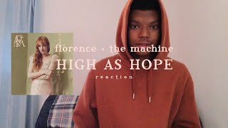 "Download Lagu Florence + The Machine - ""High As Hope"" - (reaction) 
