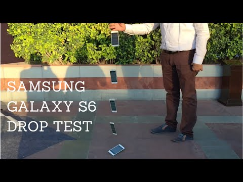 Samsung Galaxy S6 Edge Drop Test & Scratch Test - Phone Radar