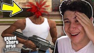 LOS BUGS MÁS GRACIOSOS DEL GTA SAN ANDREAS!! Grand Theft Auto SA Funny Moments