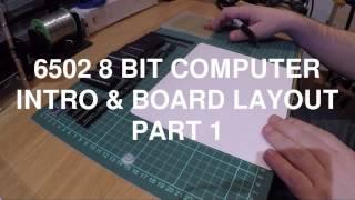 6502 Computer - Designing a 6502 computer
