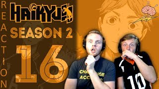 SOS Bros React - Haikyuu Season 2 Episode 16 - Oh Captain My Captain...