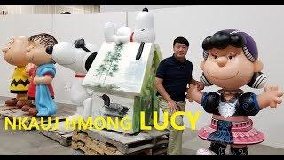 NKAUJ HMONG LUCY Unveil Ceremony: Caw Nej Tuaj Koom Qhib NKAUJ HMONG LUCY & take pictures with her