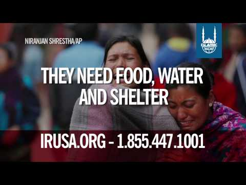 Islamic Relief USA -- Help Survivors of Nepal's Earthquake
