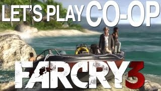 Let's Play Far Cry 3 Split Screen Co-op Gameplay - Outside Xbox