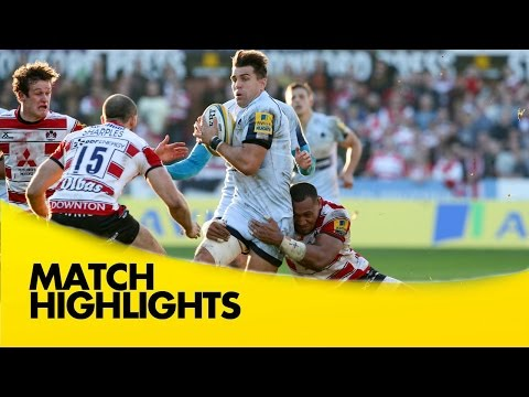 Gloucester Vs Worcester Warriors - Aviva Premiership 2015/16