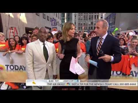 Al Roker Frozen on Today Show