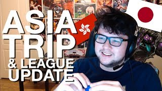 DYRUS VLOG | TRIP TO ASIA, EXPLAINING THINGS ABOUT LEAGUE OF LEGENDS