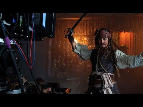 Pirates of the Caribbean: On Stranger Tides : On-Set Footage