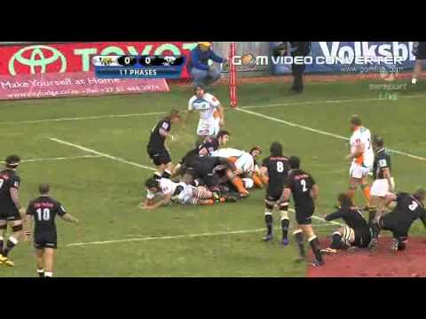 Bismarck Du Plessis's run vs the Cheetahs | Super Rugby Video Highlights 2012
