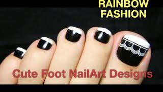 Cute Foot Nail Arts Design . Nail Art | Rainbowfashion