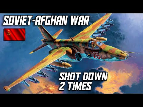 Soviet-afghan War Su-25 Frogfoots Extensive Action/shoot Downs.