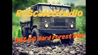 Rc scale studio model 4x4 1:10 Cross Rc GAZ 66 Forest Hard