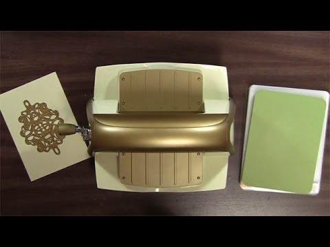 Anna Griffin Lace Trimmings Cuttlebug Embossing Folders and Dies Review