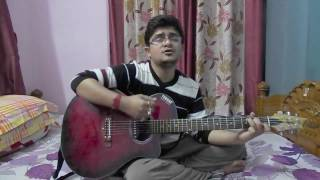 Katakuti khela (Reprise) by Anupam Roy - Guitar lesson (Debjit)
