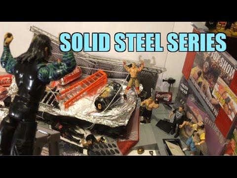GTS WRESTLING: Survivor Series! WWE Mattel Figure Matches Animation PPV Event