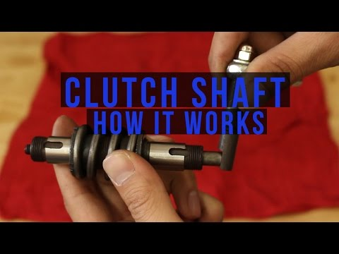 How a 2 Stroke Clutch Shaft Works for a 50cc and 66/80cc BikeBerry Engine Kit