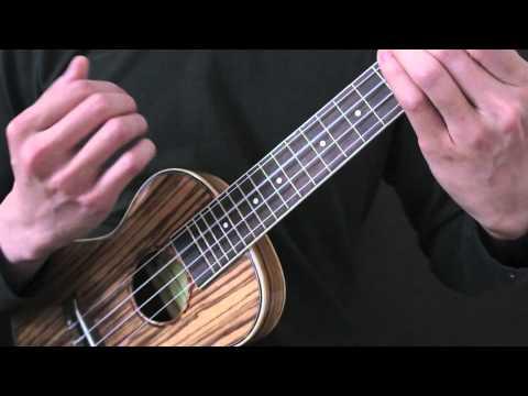 分分鐘需要你 ukulele 示範