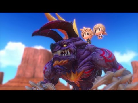 WORLD OF FINAL FANTASY – Explore the magical world of Grymoire!
