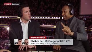Stephen A  reacts to Khabib Nurmagomedov attacking Conor McGregor's team at UFC 229   SportsCenter