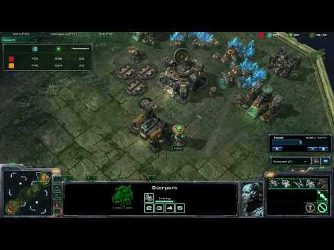 SC2 HD #74 p1/1 qxc[T] vs Moo[T]