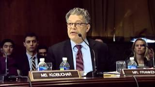 "Franken Calls GOP Obstructionism ""Absurd"" And Provides Examples"