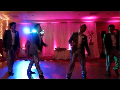 Wedding Entrance Dance ( Sexy and I Know It )